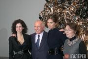 Mollie Dent-Brocklehurst, François Pinault, Daria Zhukova and Caroline Bourgeois