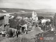 Таруса.  Панорама города. 1900-е