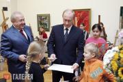 Vladimir Putin at the Zurab Tsereteli Art Gallery