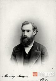 Pavel Mikhailovich Tretyakov. 1871