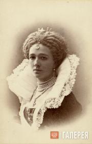 Vera Nikolaevna Tretyakova. 1872