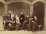 The Pavel Tretyakov family