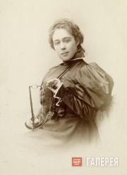Alexandra Pavlovna Botkina, née Tretyakova. [1880s]