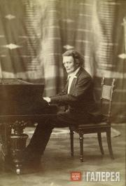 Anton Rubinstein. Photo. [1880s]