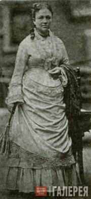 Vera Tretyakova. Photo. 1876