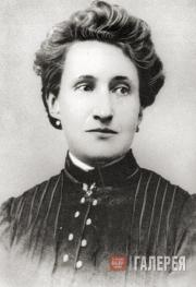 Мария Александровна Цветаева (урожденная Мейн). 1903