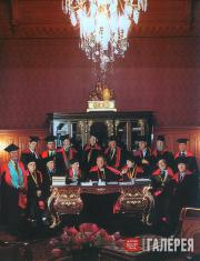 A meeting of the Presidium of the Russian Academy of Arts