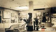 Общий вид экспозиции Выставки русского искусства