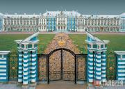 Золотые ворота. Парадный въезд к Екатерининскому дворцу