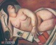 Макс БЕКМАН. Спящая. 1924