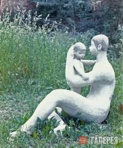 Пологова Аделаида. Материнство. 1960