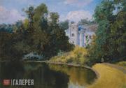 Polenov Vasily. Pond in the park. Olshanka. 1877