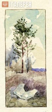 Якунчикова Мария. Рисунок М.В. Якунчиковой в письме к сестре, Н.В.Поленовой, из