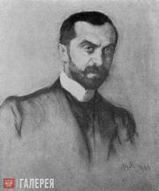 Serov Valentin. Portrait of Viktor Obninsky. 1906