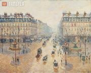 Camille PISSARRO. Avenue de l'Opera. 1889