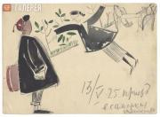 Ufimtsev Viktor. Arrival to Samarkand. 1924