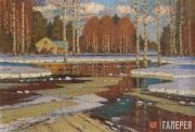 Purvītis Vilhelms. Spring Landscape (March). 1930s