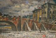 Purvītis Vilhelms. A Bridge. c. 1930