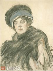 Serov Valentin. Portrait of Princess Olga Orlova. 1911