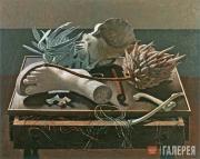Giovanni COLACICCHI. Still-life of the Protea. 1937
