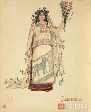 В.М. Васнецов. Весна-Красна. 1885