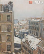 Якунчикова Мария. Париж зимой. 1893