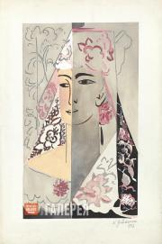 Goncharova Natalia. Espagnole. Mid-1920s