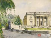 Alexandre BENOIS. The Petit Trianon. 1920s