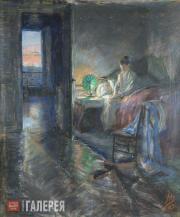 Yakunchikova Maria. Sunrise. 1892