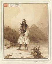 Aivazovskiy Ivan. Polycar on Mount Athos. 1845