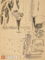 Sofronova Antonina. Interior with a Child's Chair. 1958