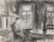 Голицын Илларион. У окна. 1985