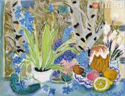Mavrina Tatyana. Easter Still-life. 1993