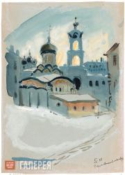 Mavrina Tatyana. Convent of Nativity of Theotokos. 1943