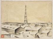 Chernyshev Nikolai. Shukhov Radio Tower. 1922