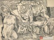 Зальцман Павел. «Их вожделение и их конец». 1964
