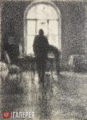 Верейский Георгий. Окно, сумерки. 1928