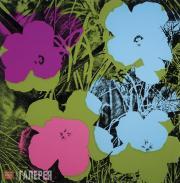 Warhol Andy. Flowers. 1970