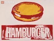 Warhol Andy. Hamburger. 1985–1986