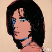 Warhol Andy. Mick Jagger. 1975