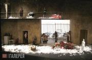 В.А. Арефьев. Макет декорации к опере Дж. Россини «Севильский цирюльник». 2010