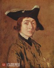 Gainsborough Thomas. Self-portrait. 1754
