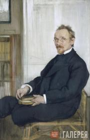 Bakst Léon. Portrait of Vasily Rozanov. 1901