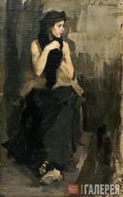 Шемякин Михаил. Натурщица (В мастерской В.А. Серова). 1903