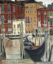 Lev Shepelev. Venice. The Grand Canal. 1998