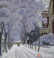 Lev Shepelev. Hoar-frost in St. Petersburg. 2000