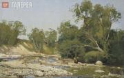 Andrei SCHILDER. Shoaled river