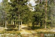 Шишкин Иван Иванович. Сестрорецкий бор. 1896