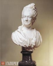 Shubin Fedot. Portrait of Countess Maria Panina. Mid-1770s