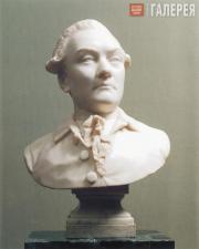 Shubin Fedot. Anonymous Male Portrait. Mid-1770s